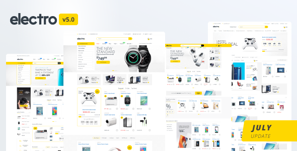 Electro 5 Shopify Theme Preview
